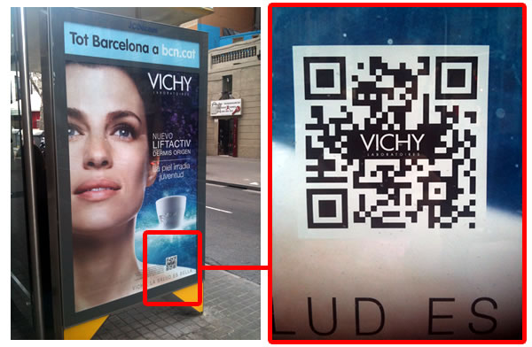 VICHY. OPIs withQR-Codes