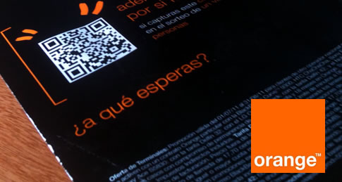 Orange sortea viajes… con QR-Codes!