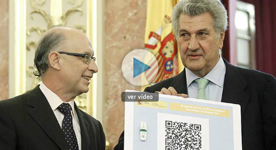 QR-Codes en el Parlamento
