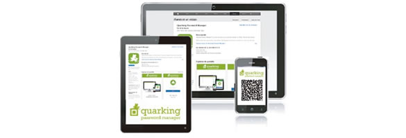 Quarking Password Manager. A QR-Code based solution to manage your passwords